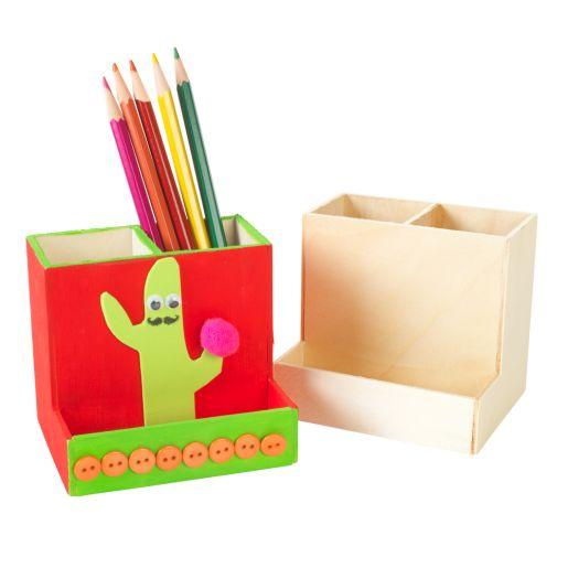 Colorations® Wooden Desktop Organizer - Set of 12