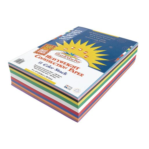 Sunworks® Heavyweight Construction Paper Smart Stack™