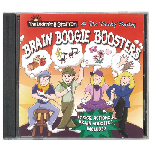 """Brain Boogie Boosters"" CD by The Learning Station & Dr. Becky Bailey"