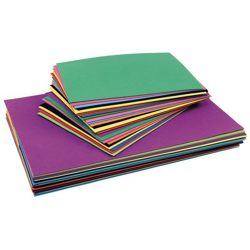 "Colorations® Foam Sheets, 12"" x 18"" - 30 Sheets"