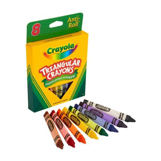 Crayola® Triangular Anti-Roll® Crayons