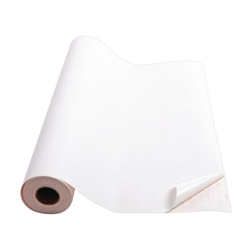"White Con-Tact® Repositionable Cover - 18""W x 60'L"