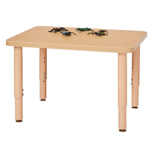 "24"" x 30"" Maple Top Multi-Purpose Rectangle Table"