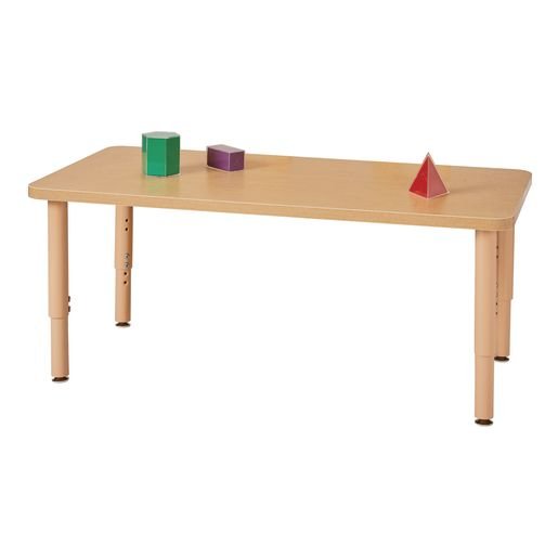 "24"" x 48"" Maple Top Multi-Purpose Rectangle Table"
