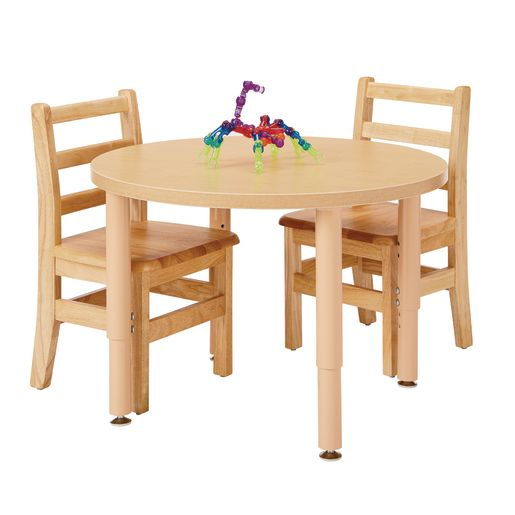 "30""Dia. Maple Top Multi-Purpose Round Table"