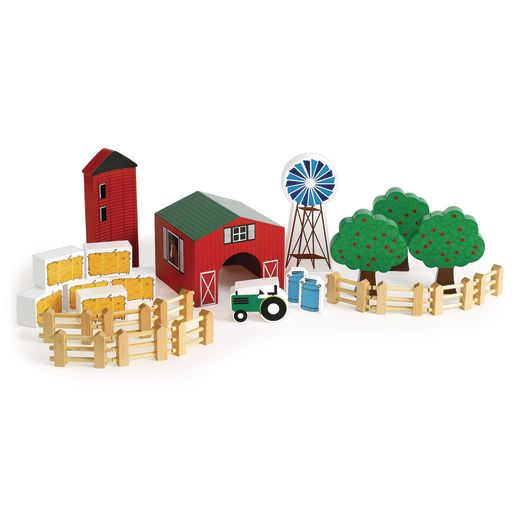 Excellerations® Farm Block Play Set - 25 Pieces