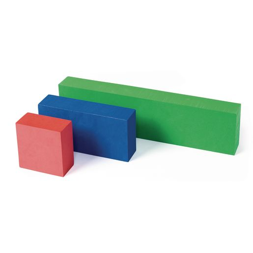 Foam Unit Floor Blocks - 126 Pieces