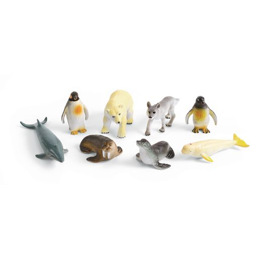 Medium Polar Animals - Set of 8