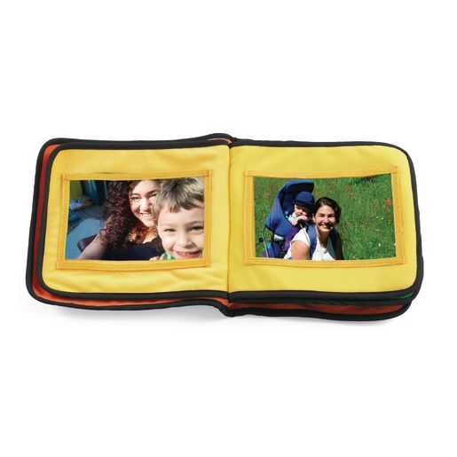 Excellerations® Fabric Photo Album - 13 Pockets