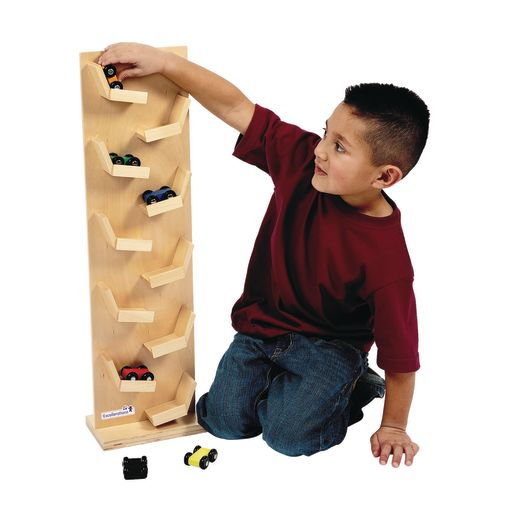 Excellerations® Two-Sided Wooden Racing Tower