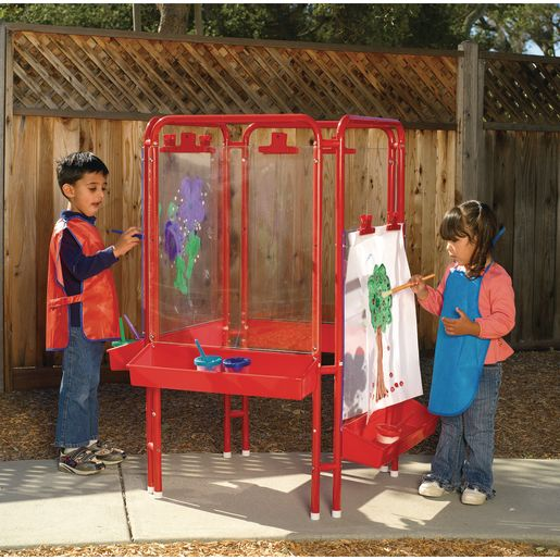 Colorations® 4-Way Indoor/Outdoor Acrylic Panel Easel