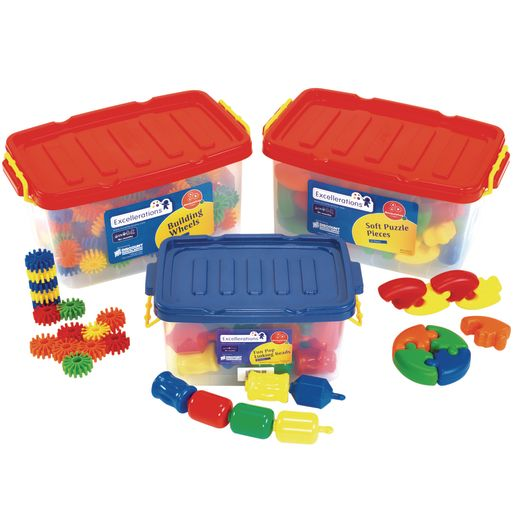 Image of Excellerations Beginning Manipulatives - Set of 3