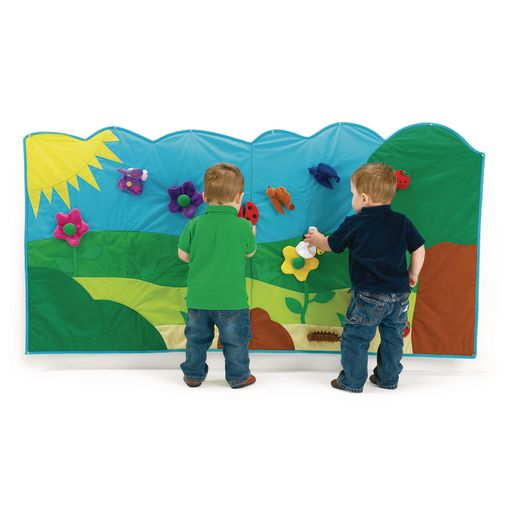 Excellerations® Soft Garden Wall Mural - 14 Pieces