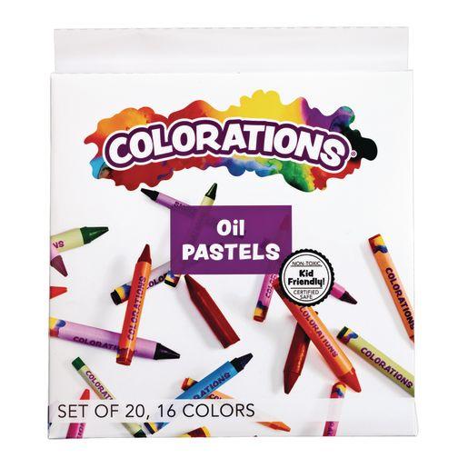 Colorations® Oil  Pastels Set of 20