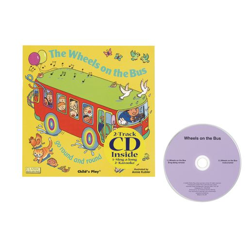 Wheels On The Bus Book & CD