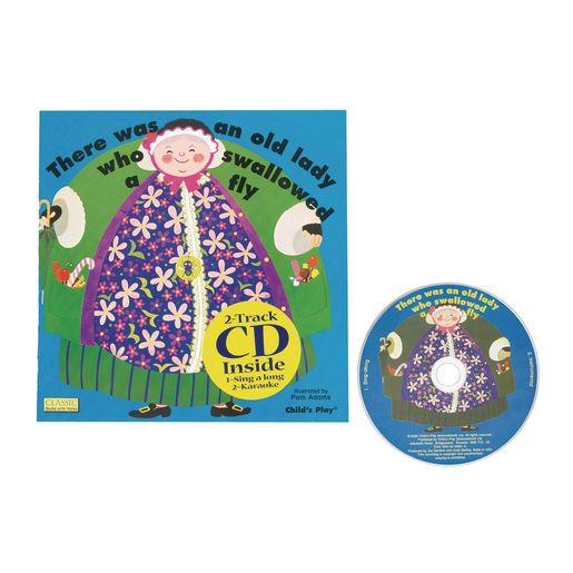 There Was An Old Lady Book & CD
