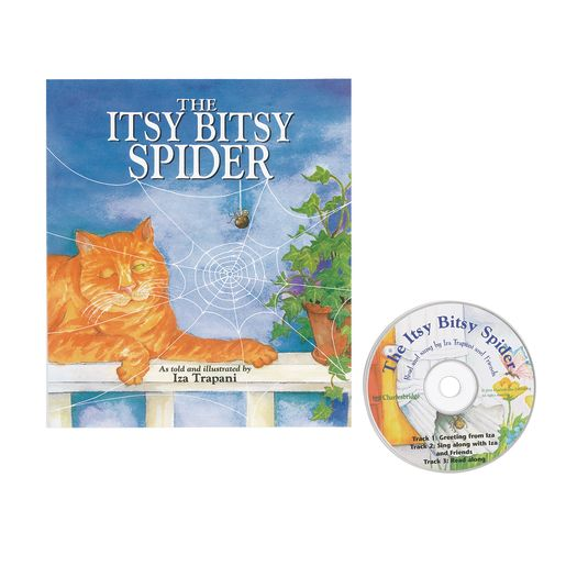 The Itsy Bitsy Spider Book & CD