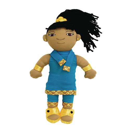Image of Excellerations World Friends Doll - Indian Girl