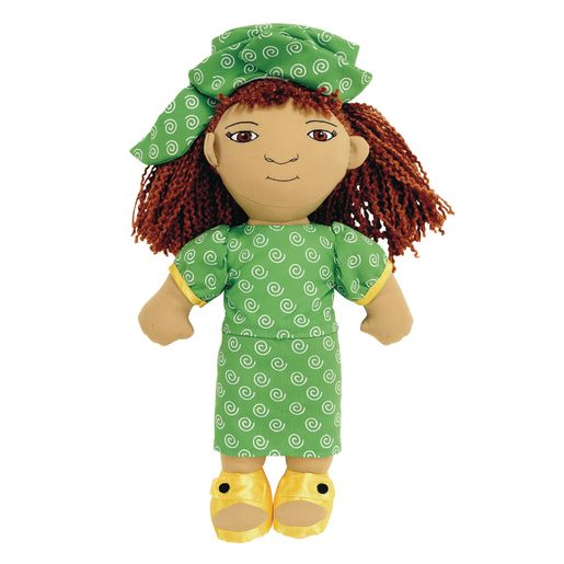 Image of Excellerations World Friends Doll - African Girl