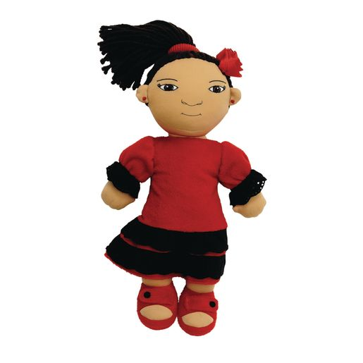 Image of Excellerations World Friends Doll - Spanish Girl