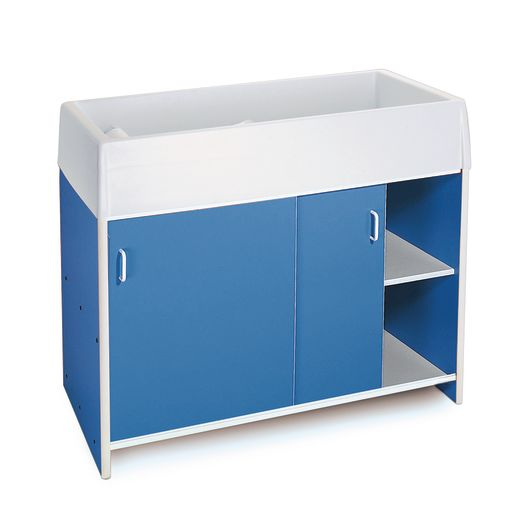 Infant Care Changing Cabinet - Blue