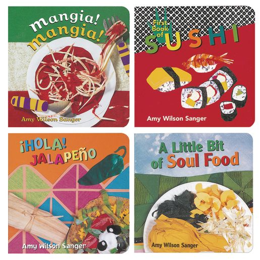 Food of the World Books - Set of 4
