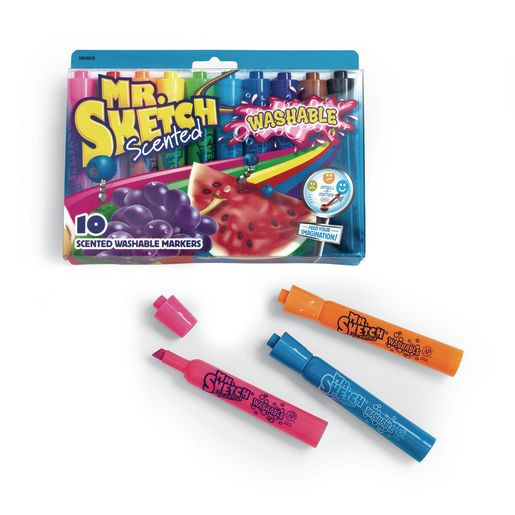 Mr. Sketch® Scented Washable Markers