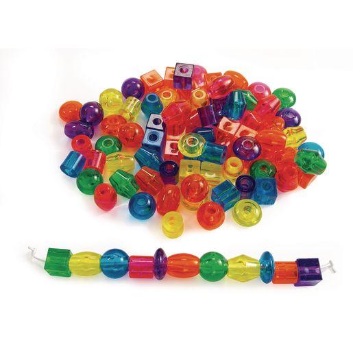 Jumbo Translucent Beads, 1 lb.