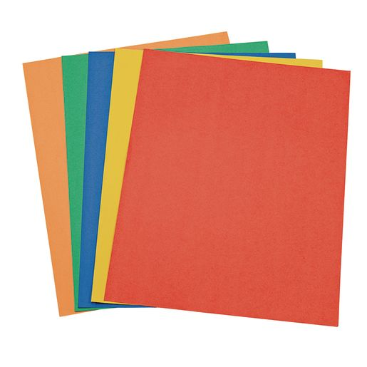 Image of Economy Weight Colored Poster Board - 50 Sheets