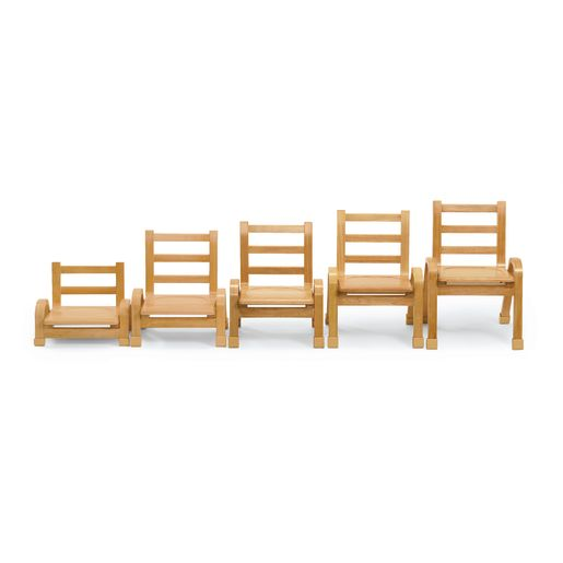 """Angeles® NaturalWood™ Collection Chair - 11""""H"""