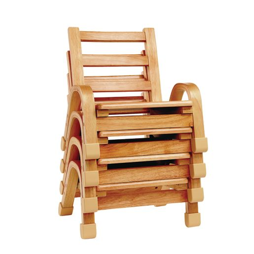 "Angeles® NaturalWood™ Collection Chair - 13""H"
