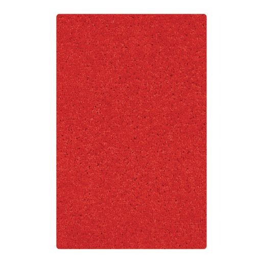"Solid Color Carpet - Red 5'10"" x 8'5"" Rectangle"
