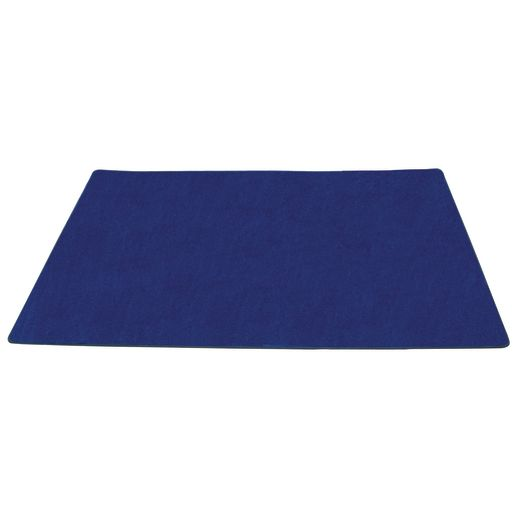 "Solid Color Carpet Blue 8'5"" x 11'9"" Rectangle"