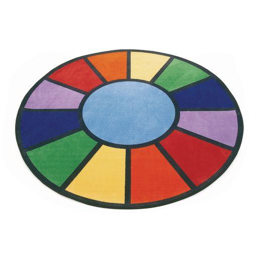 Image of Rainbow Rug - 6'6 Round