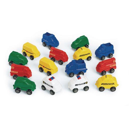 Chubby City Vehicles - Set of 15