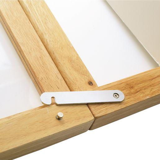 Hardwood Compact Folding Clear View Crib