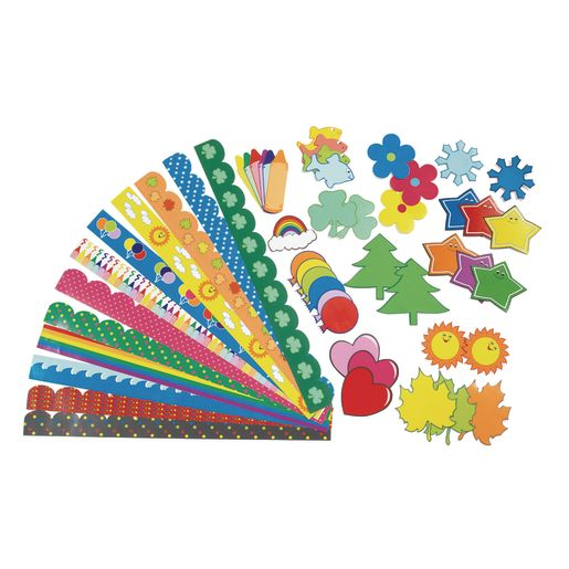 Image of Colorations Super Bulletin Board Classroom Pack - 432 Pieces