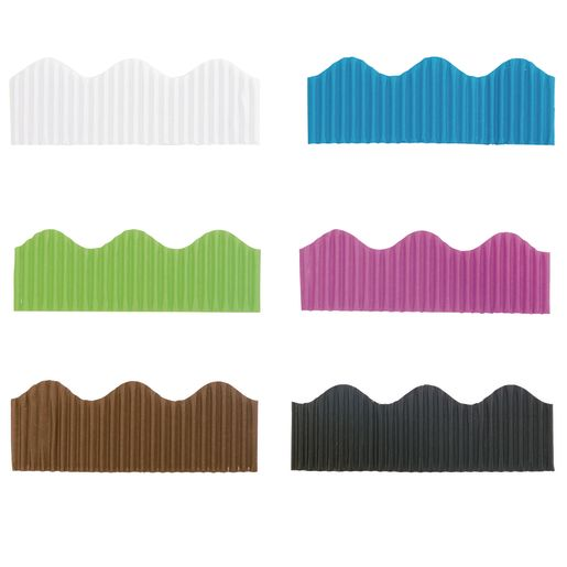 Colorations® Prima-Color™ Borders, Accent Colors -  Set of 6