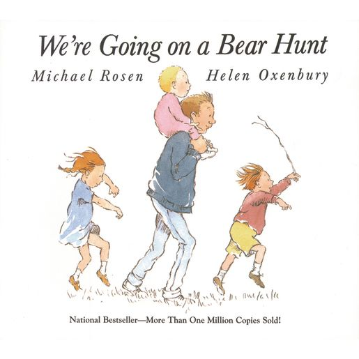 """We're Going on a Bear Hunt"" - Hardcover Book"