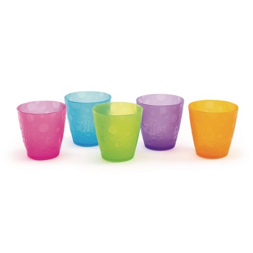 Colorful 8 oz. Cups - Set of 5
