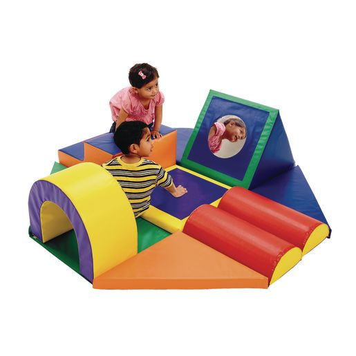 Image of Shape & Play Obstacle Course