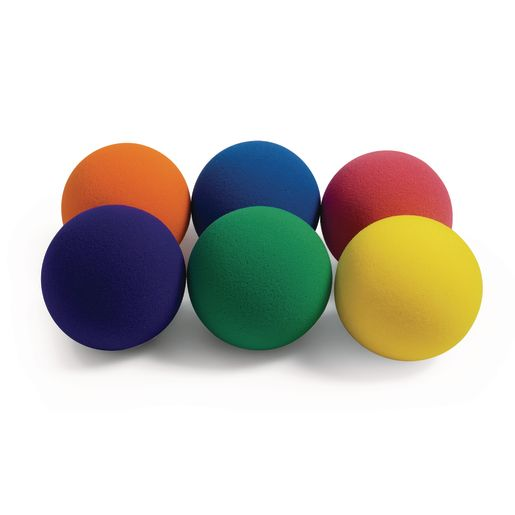 Image of Jumbo Soft Foam Balls - Set of 6