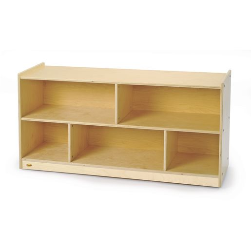 Image of Value Line Birch 24H Mobile Toddler Shelf