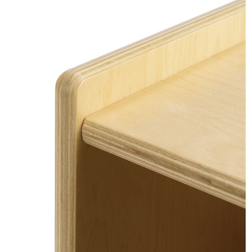 "Value Line™ Birch 24""H Mobile Toddler Shelf"