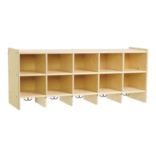 Value Line™ Birch 10-Section Wall Locker