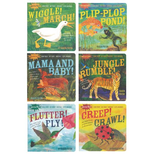 Indestructibles® Infant Books - 6 Titles