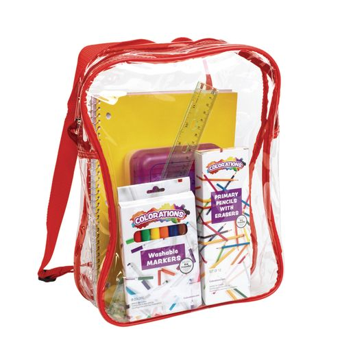 Premium Clear Student Back Pack_0