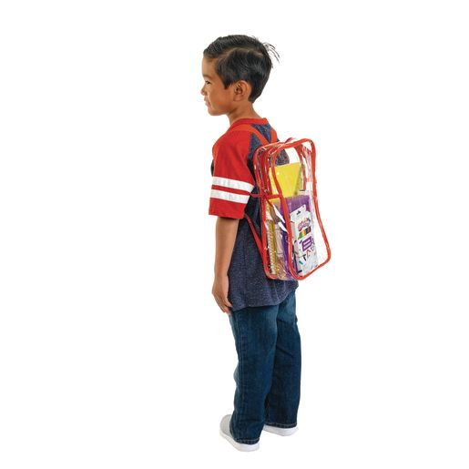 Premium Clear Student Back Pack