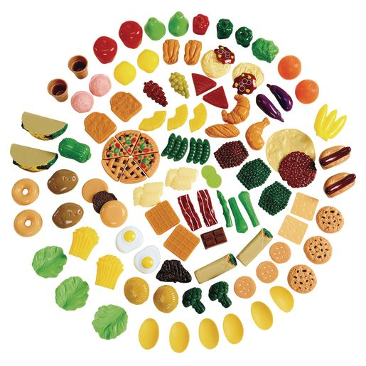 Image of Toddler Pretend Play Food Set - 101 pieces