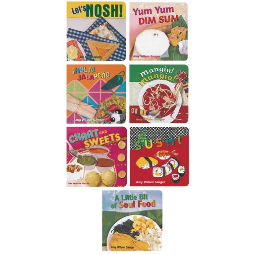 Ethnic Food Board Books